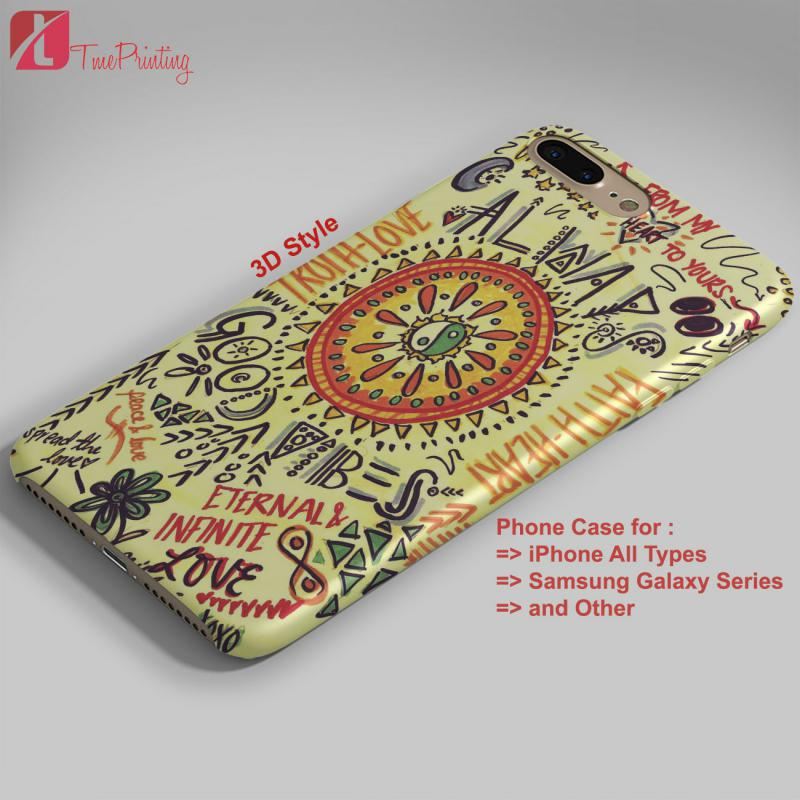 American Hippie Psychedelic Quotes - Personalized iPhone X Case, iPhone Cases, Samsung Galaxy Cases 3482