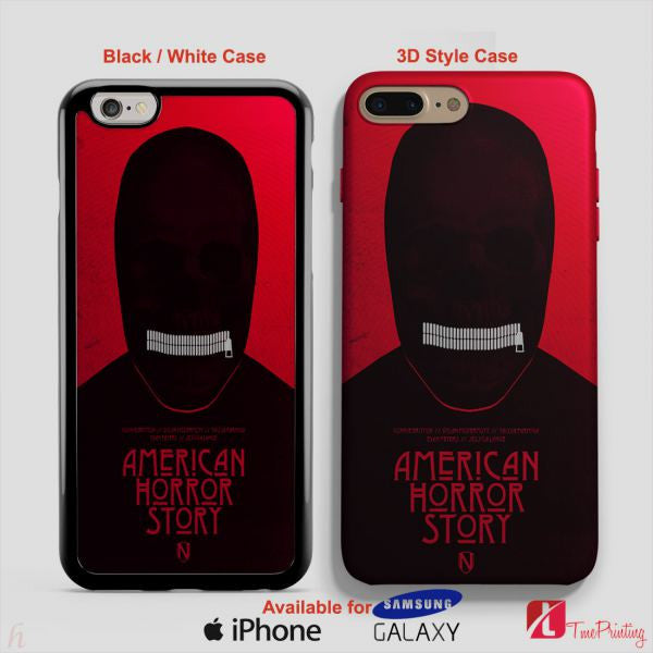 American Horror Story Silence Asylum - Personalized iPhone 7 Case, iPhone 6/6S Plus, 5 5S SE, 7S Plus, Samsung Galaxy S5 S6 S7 S8 Case, and Other
