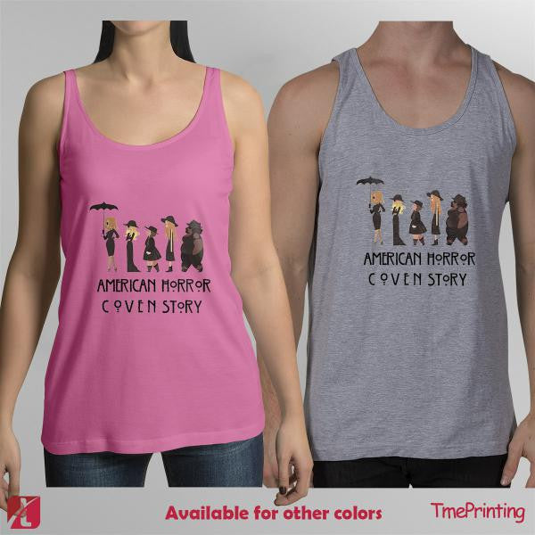 American Horror Coven Story for Men Tank Top, Women Tank Top