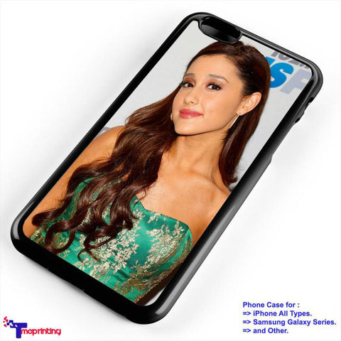 Ariana Grande Beauty - Personalized iPhone 7 Case, iPhone 6/6S Plus, 5 5S SE, 7S Plus, Samsung Galaxy S5 S6 S7 S8 Case, and Other