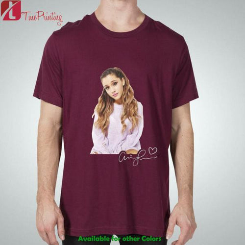 Ariana Grande Signature for Men T-Shirt, Women T-Shirt, Unisex T-Shirt