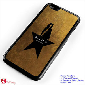 Hamilton an American Musical - Personalized iPhone 7 Case, iPhone 6/6S Plus, 5 5S SE, 7S Plus, Samsung Galaxy S5 S6 S7 S8 Case, and Other