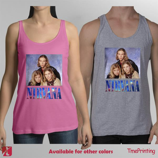 Nirvana hanson galaxy space tank top, hanson nirvana tank top for Men Tank Top, Women Tank Top