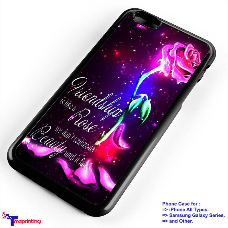 Rose Beauty And The Beast Quote Personalized Iphone 7 Case Iphone