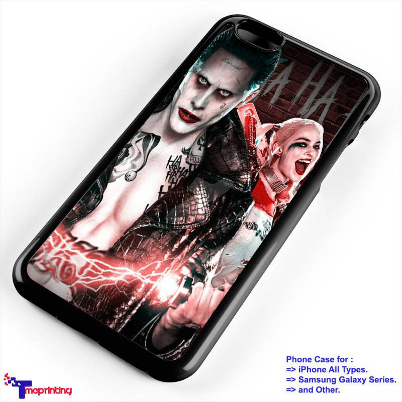 Suicide Squad Joker And Harley Quinn Poster Personalized Iphone 7 Case Iphone 6