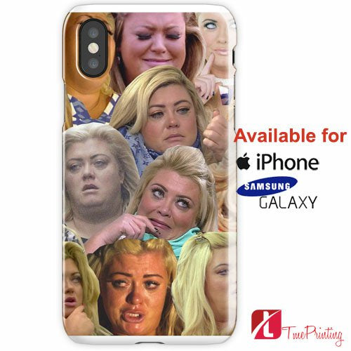 THE MANY MOODS OF GEMMA COLLINS Personalized iPhone X Case, iPhone Case, Samsung Galaxy Case, 6