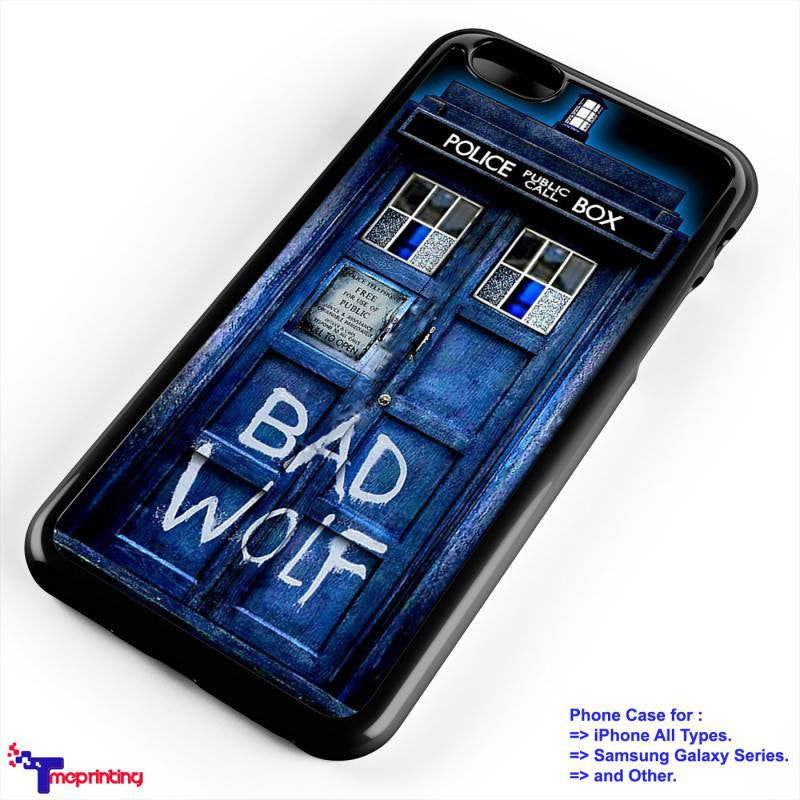 Tardis Doctor Who Bad Wolf Personalized Iphone 7 Case Iphone 66s