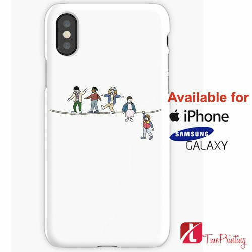 The Acrobats And The Fleas Stranger Things Personalized iPhone X Case, iPhone Case, Samsung Galaxy Case, 25