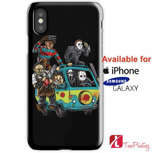 The Massacre Machine Horror Personalized iPhone X Case, iPhone Case, Samsung Galaxy Case, 7
