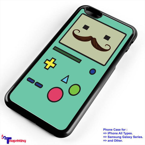 adventure time brown mustache - Personalized iPhone 7 Case, iPhone 6/6S Plus, 5 5S SE, 7S Plus, Samsung Galaxy S5 S6 S7 S8 Case, and Other