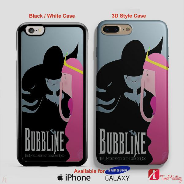 Adventure Time Bubbline - Personalized iPhone 7 Case, iPhone 6/6S Plus, 5 5S SE, 7S Plus, Samsung Galaxy S5 S6 S7 S8 Case, and Other