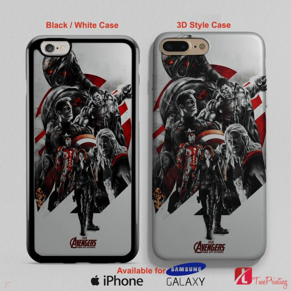 age of ultron poster avengers - Personalized iPhone X Case, iPhone Cases, Samsung Galaxy Cases 3064