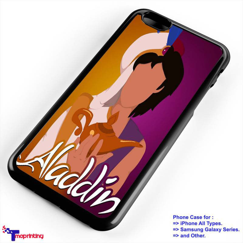 Aladdin and Jasmine 3 - Personalized iPhone 7 Case, iPhone 6/6S Plus, 5 5S SE, 7S Plus, Samsung Galaxy S5 S6 S7 S8 Case, and Other