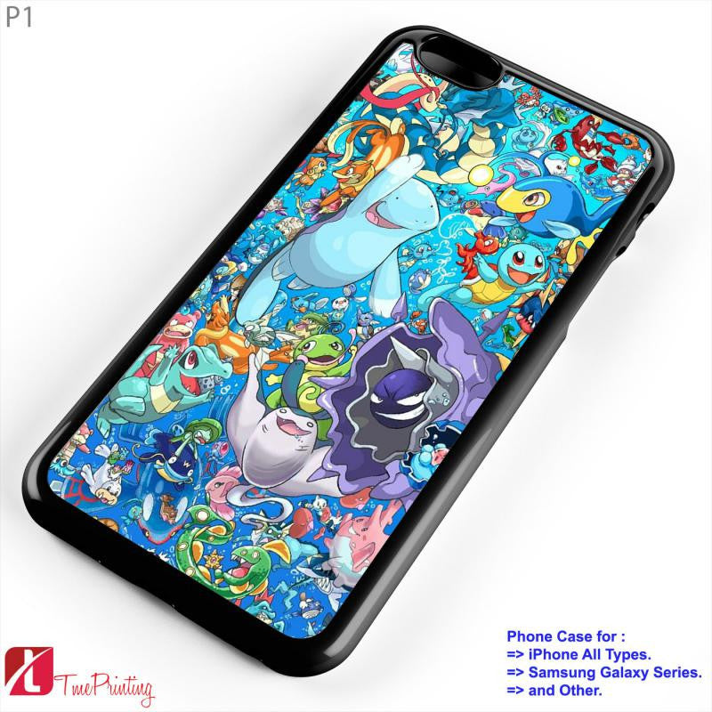 All Pokemon Considered  2 - Personalized iPhone 7 Case, iPhone 6/6S Plus, 5 5S SE, 7S Plus, Samsung Galaxy S5 S6 S7 S8 Case, and Other