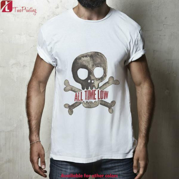 All Time Low Skull Logo for Men T-Shirt, Women T-Shirt, Unisex T-Shirt