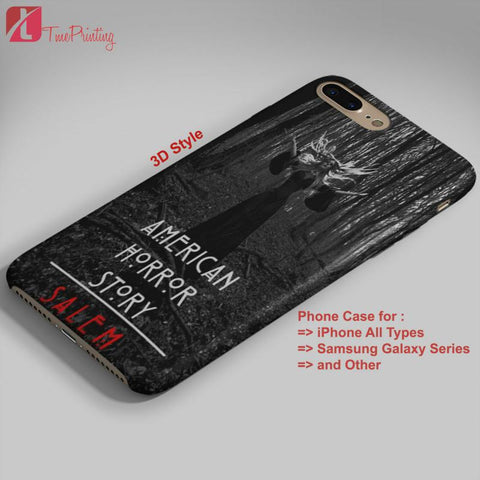 American Horror Story Season 3 Salem - Personalized iPhone 7 Case, iPhone 6/6S Plus, 5 5S SE, 7S Plus, Samsung Galaxy S5 S6 S7 S8 Case, and Other