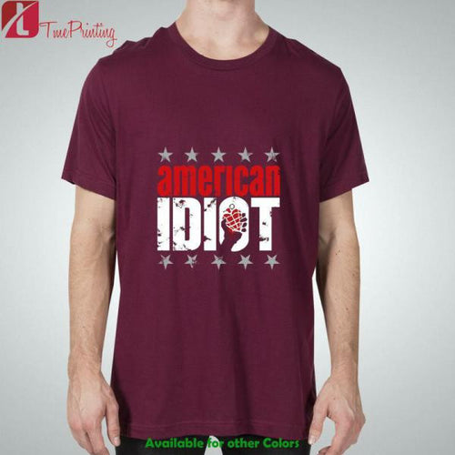 american idiot Green Day for Men T-Shirt, Women T-Shirt, Unisex T-Shirt