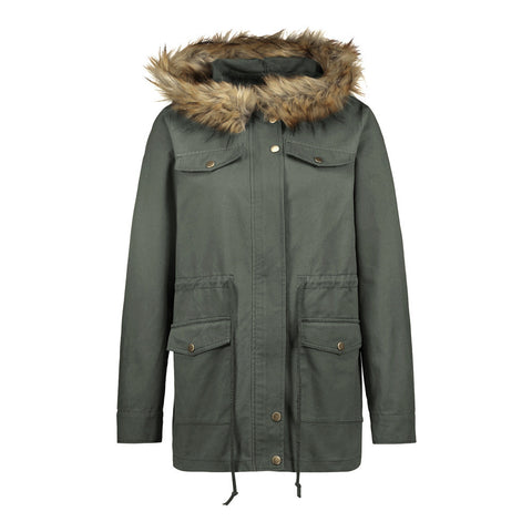 Hooded Cotton Winter Coat Warm Long Jacket