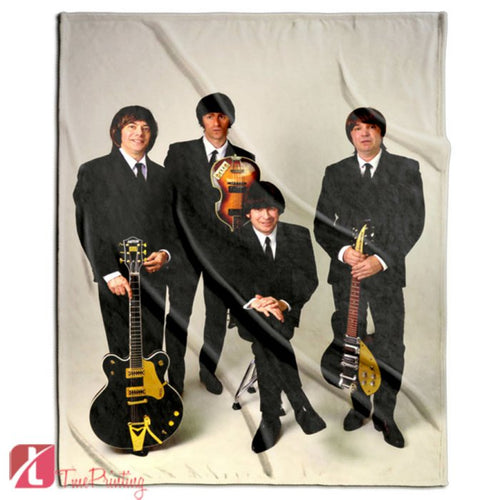 The Beatles Best Personalized Blanket, Custom Blankets, 3