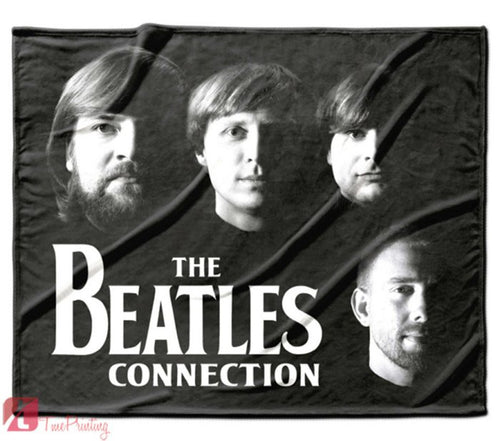 The Beatles Rocks Personalized Blanket, Custom Blankets, 5