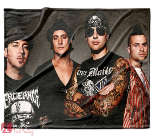 Avenged Sevenfold Personalized Blanket, Custom Blankets, 3