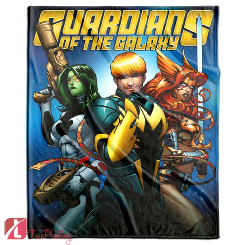 guardians of the galaxy avengers rocks Personalized Blanket, Custom Blankets, 9