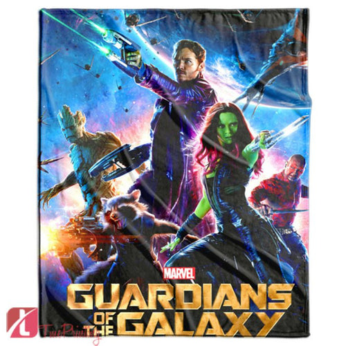 GUARDIANS OF GALAXY avengers Personalized Blanket, Custom Blankets, 10
