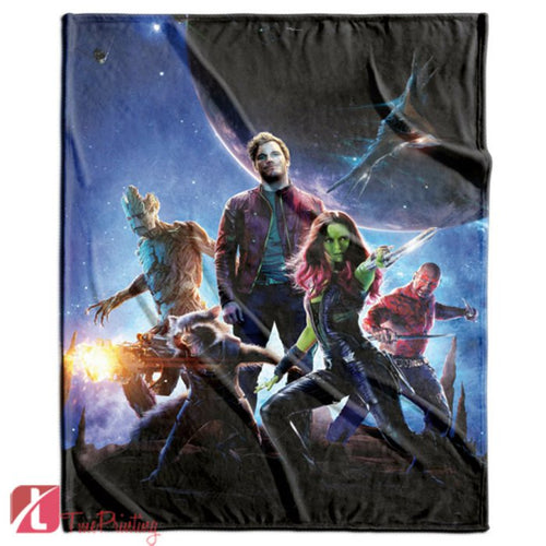 GUARDIANS OF THE GALAXY avengers Personalized Blanket, Custom Blankets, 11