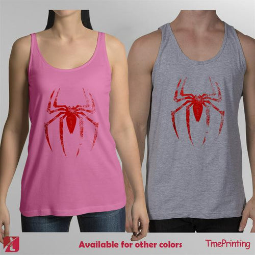 spiderman logo, marvel comic tank top, superhero tank tops  for Men Tank Top, Women Tank Top