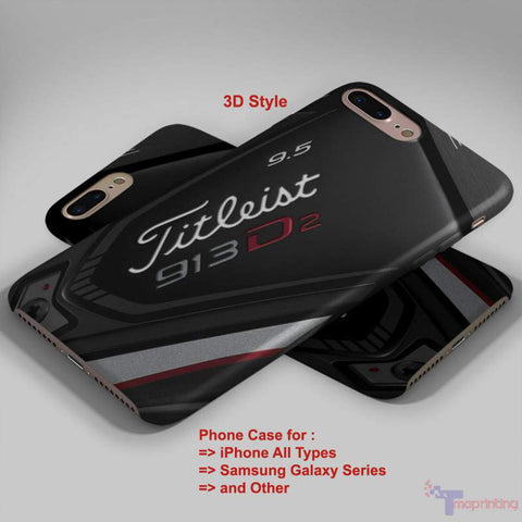 titleist golf - Personalized iPhone 7 Case, iPhone 6/6S Plus, 5 5S SE, 7S Plus, Samsung Galaxy S5 S6 S7 S8 Case, and Other