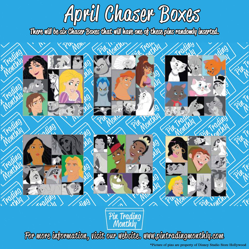 April Chaser Boxes