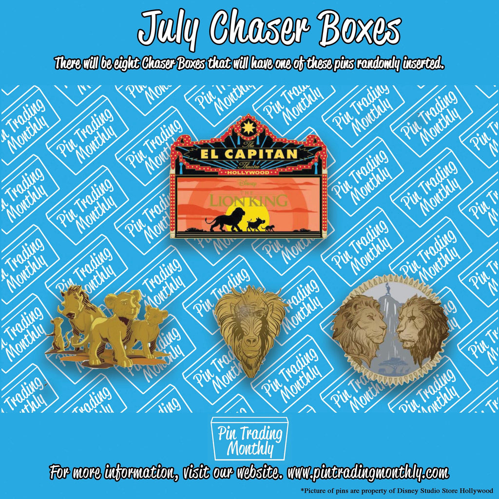 July Chaser Boxes
