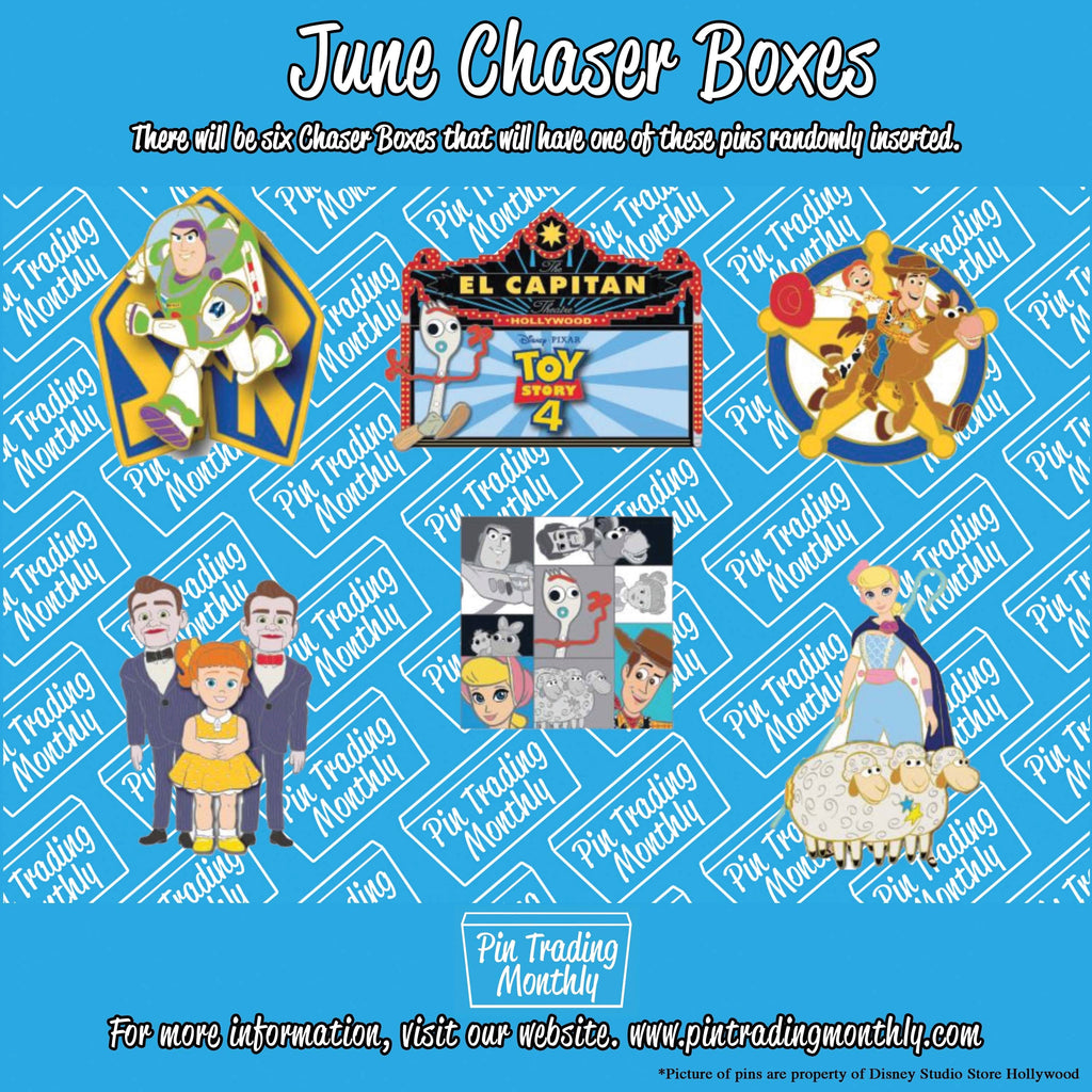 June Chaser Boxes