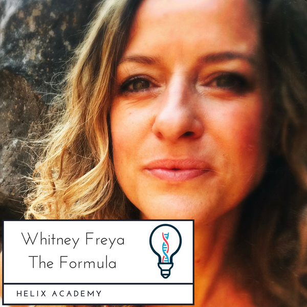 The Formula #24 - Writing, Creativity, and Being an Artist with Whitney Freya