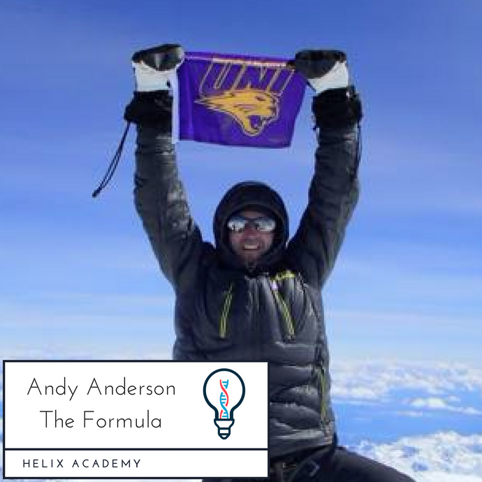 The Formula Podcast #17 - Iterating Your Way to Success and Mountain Climbing with Andy Anderson