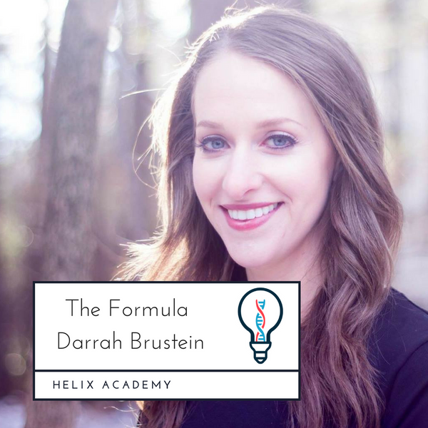 The Formula #11 - Writing, Relationships, and Taking Risks with Darrah Brustein