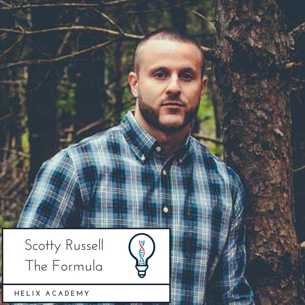 The Formula #20 - Doing Shit that Scares You and Getting Started as an Artist w/ Scotty Russell