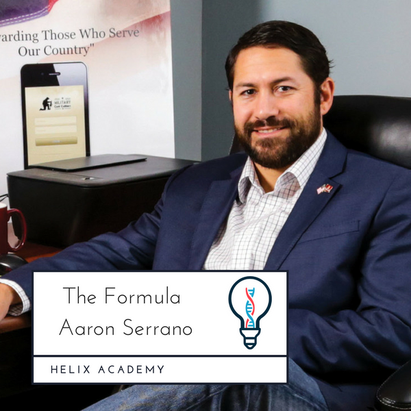 The Formula #12 - Leadership Lessons and Running a Business with Aaron Serrano