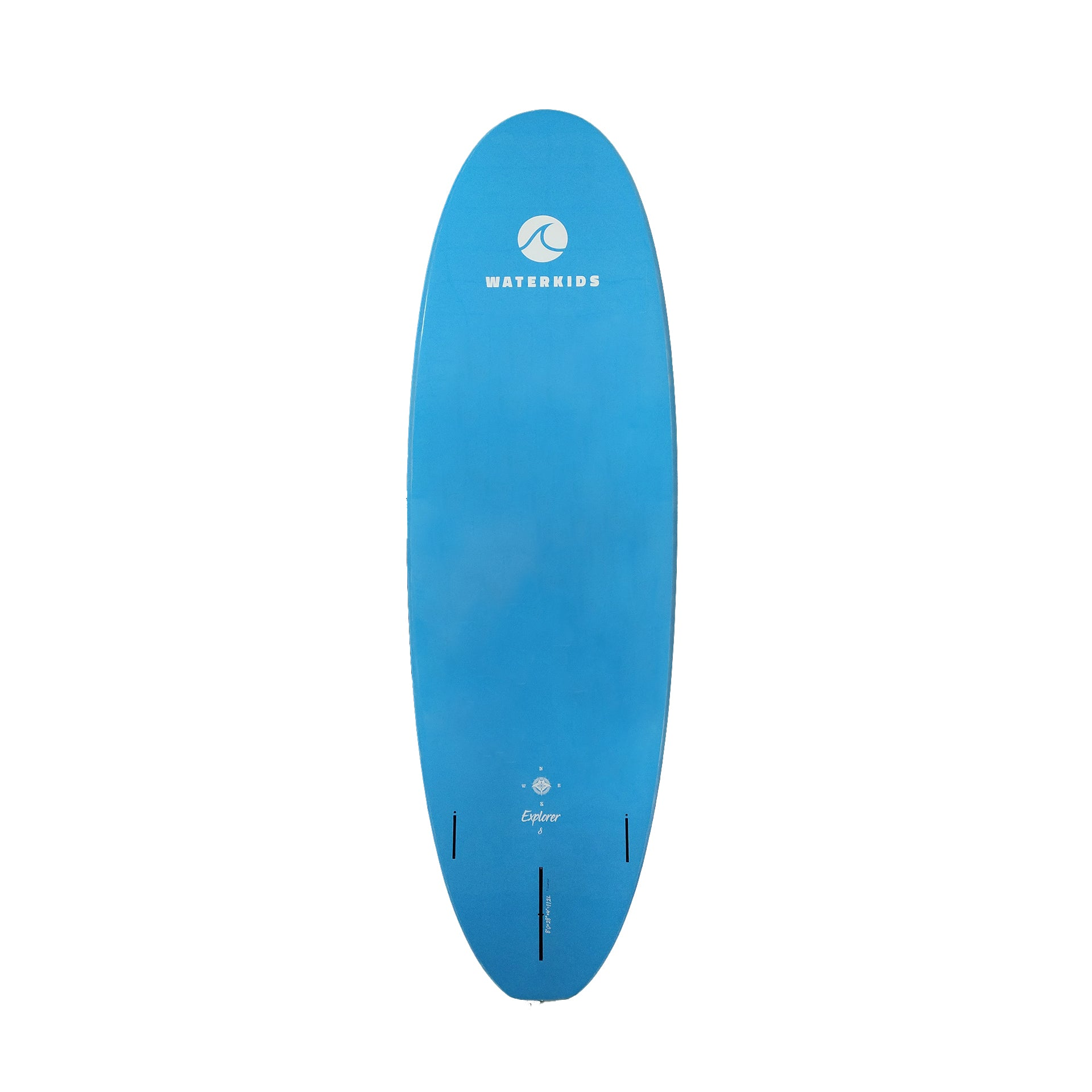 8 ft 'Explorer' Soft-Top Kids Paddle Board