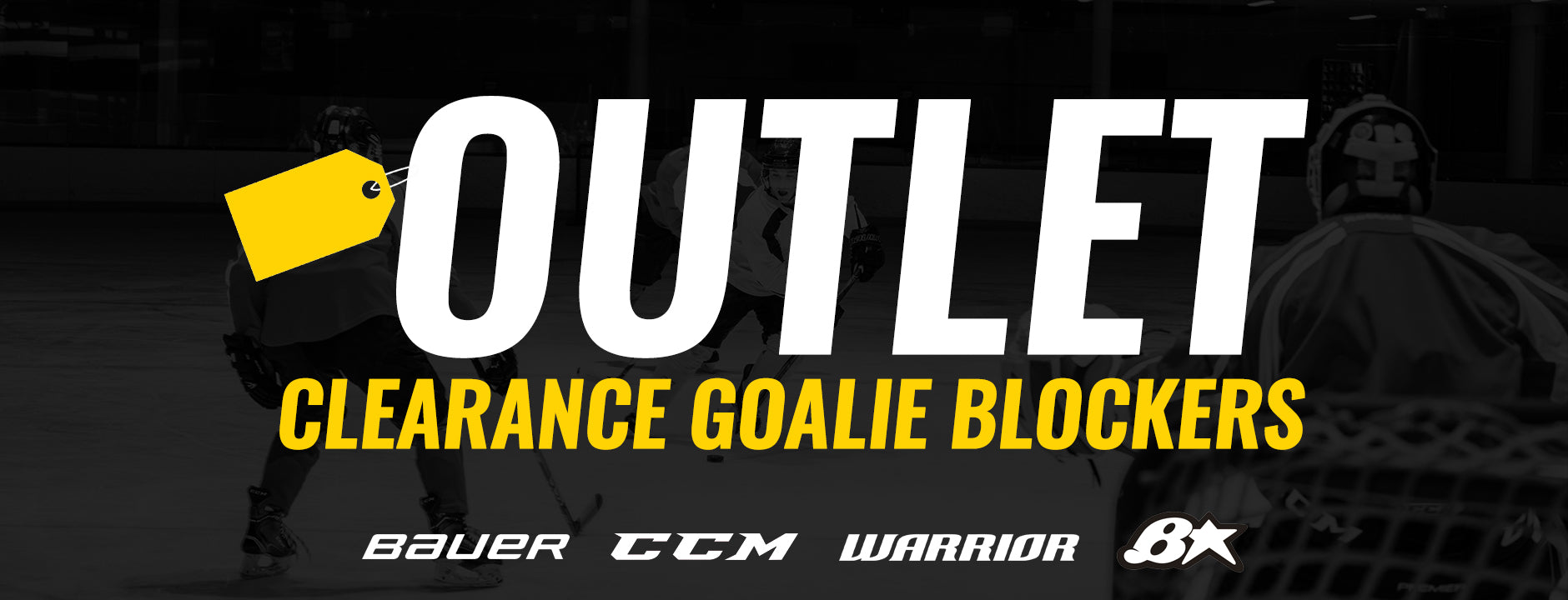 Clearance Goalie Blockers