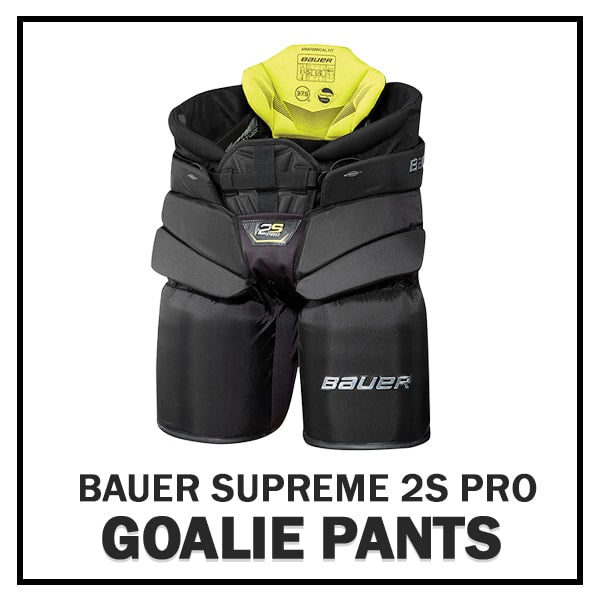 3334d7bab63 New Bauer Supreme 2S Goalie Equipment