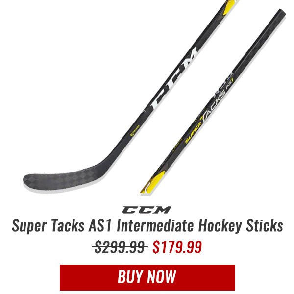 CCM SUPER TACKS AS1 INTERMEDIATE HOCKEY STICK