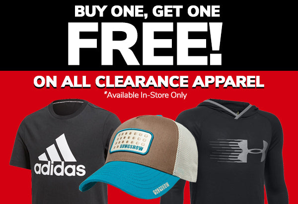 Buy One Get One Free Clearance Apparel