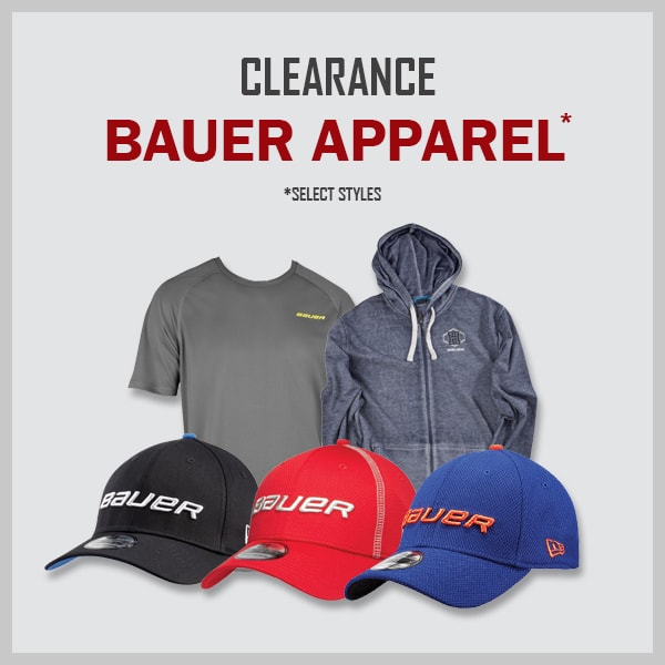 Clearance Bauer Clothing & Hats