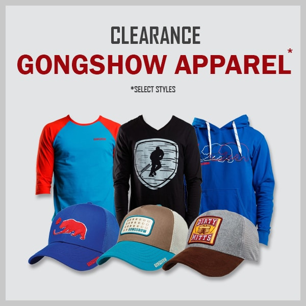 Clearance Gongshow Hockey Clothing & Hats