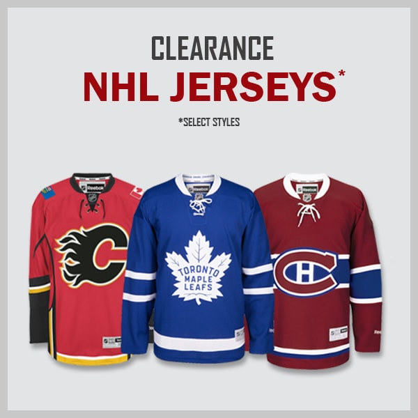 Clearance NHL Jerseys