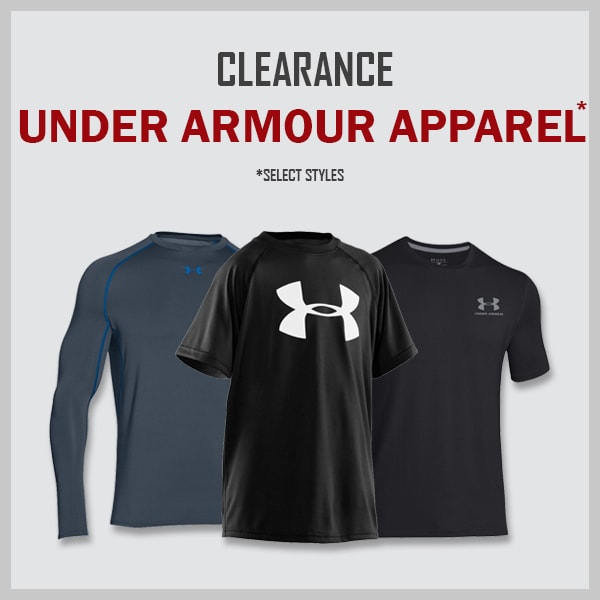 Clearance Under Armour Clothing & Hats