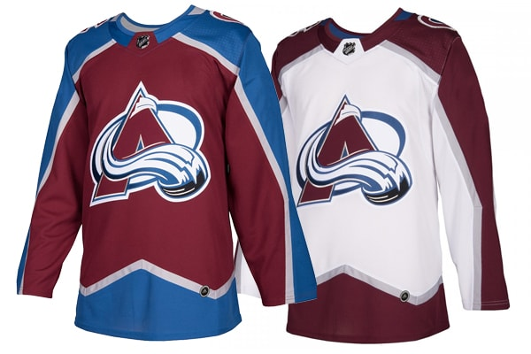 Colorado Avalanche Adidas Jerseys