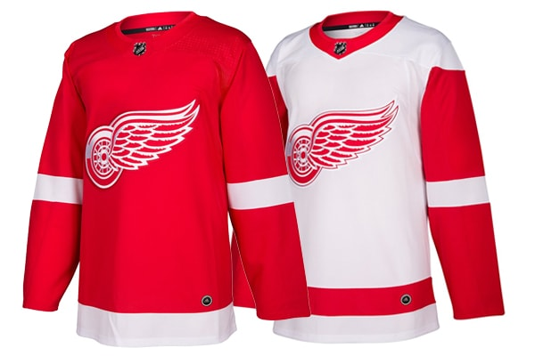 Detroit Red Wings Adidas Jerseys