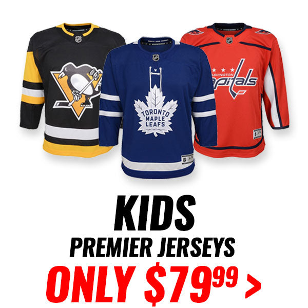 KID'S PREMIER NHL BLANK JERSEYS